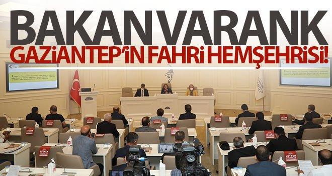 Bakan Varank Gaziantep'in Fahri Hemşehrisi oldu
