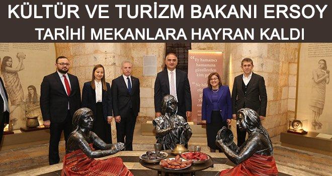 Bakan'dan başkan Şahin'e teşekkür