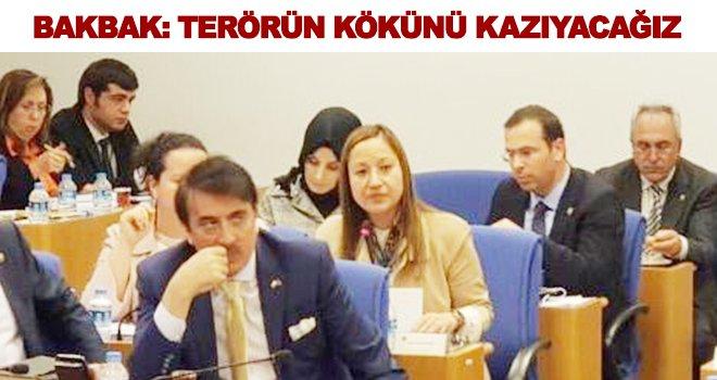 Bakbak: Ülkemizin huzuru için canımızı dişimize takacağız