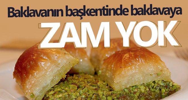 Baklava zammı Gaziantep kaynaklı değil