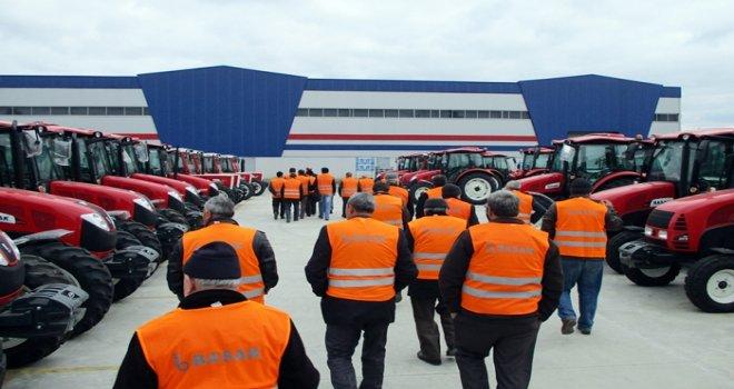 Başak Traktör, Bursa'dan gelen çiftçileri ağırladı
