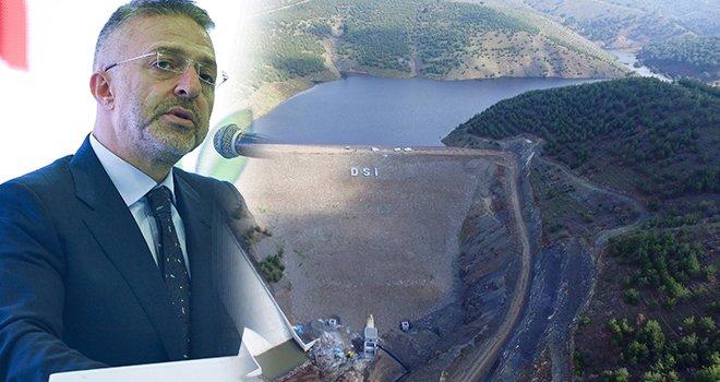 Bayraktepe barajında arazilere su verilmeye başlandı