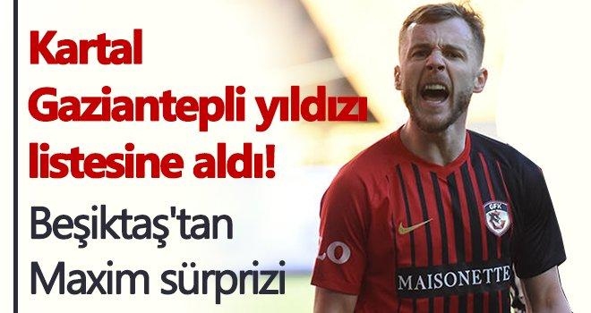 Beşiktaş, Gaziantep FK'den Alexandru Maxim'i transfer ediyor