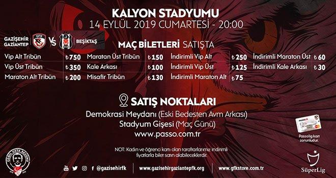 Beşiktaş maçı biletleri satışa çıkıyor
