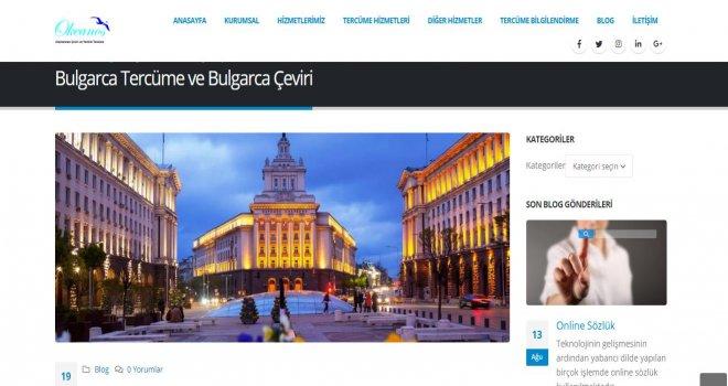 Bulgarca Çeviri Hizmeti
