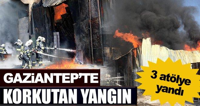 Büyük yangın! Gaziantep kara dumanlara teslim oldu