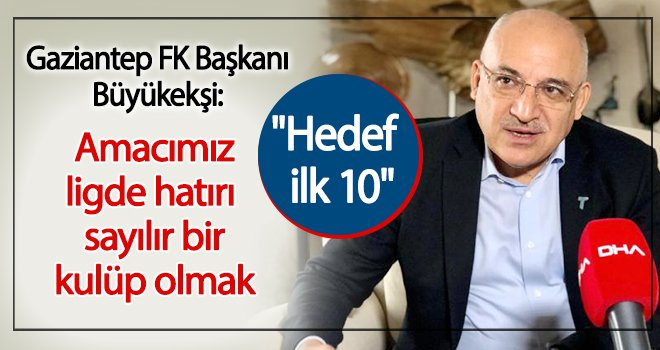 Büyükekşi: Fenerbahçe'yi yenip yolumuza devam etmek istiyoruz