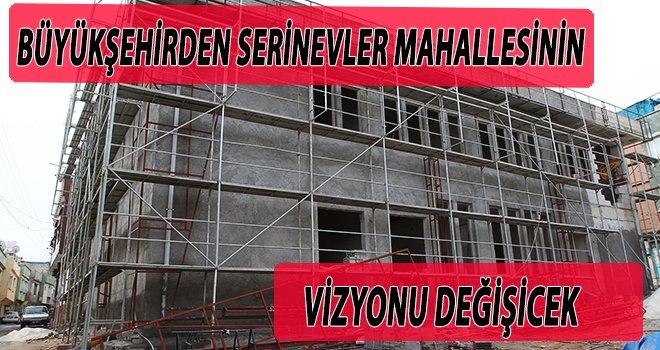 Büyükşehir Belediyesi sosyal tesis yapımına devam ediyor