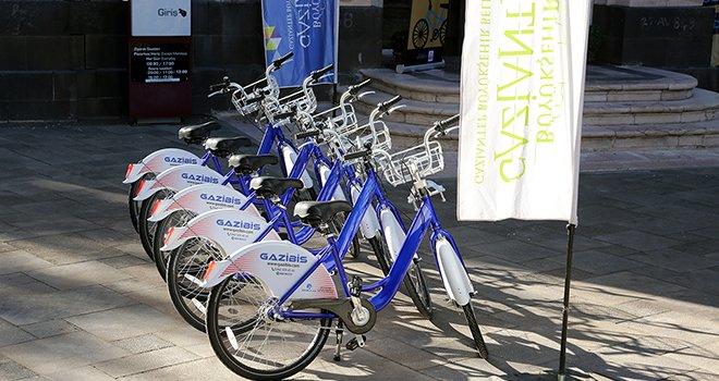 Büyükşehir bisiklet farkındalığı oluşturcak
