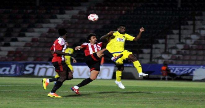 Büyükşehir Gaziantepspor Sivasspor'u 2-1 mağlup etti