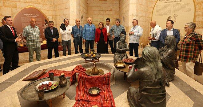 Büyükşehir müzeleri  520 Bin kişi tarafından ziayaret edildi