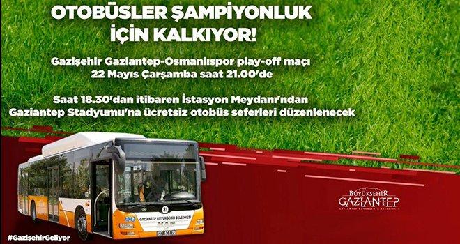 Büyükşehir'den Gazişehir'e ulaşım desteği