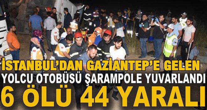 Katliam gibi kazada, 6 kişi öldü, 44 kişi yaralandı