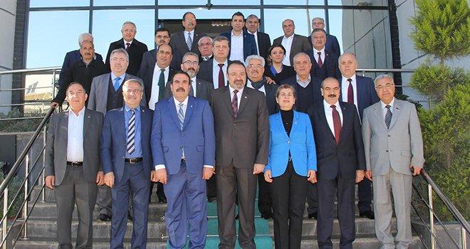 CHP 'Belediye Başkan Adayları'ndan GTB'ye ziyaret