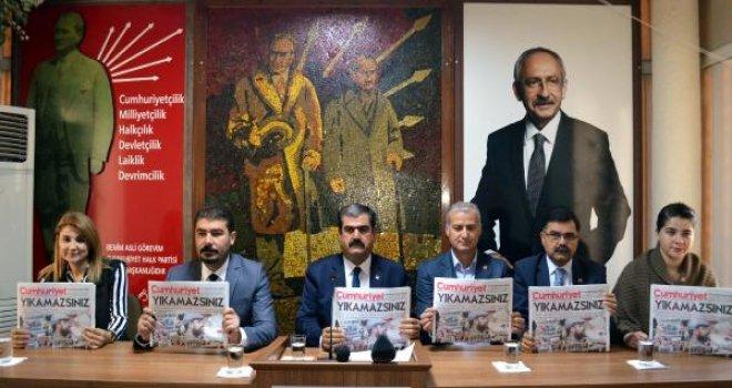 CHP Gaziantep İl Başkanı Sucu'dan 'Cumhuriyet Gazetesi' tepkisi