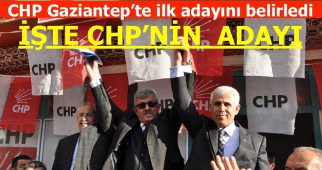 CHP Gaziantep'te ilk adayını belirledi:İslahiye'de Köse