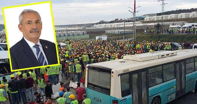 CHP milletvekili Kaplan 3. Havalimanıyla ilgili AK Parti'ye yüklendi