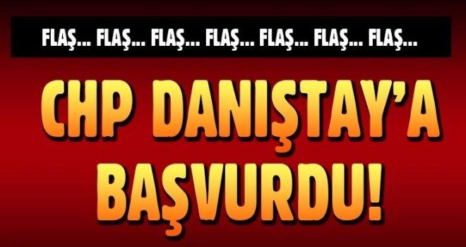 CHP, YSK kararının iptali için Danıştay'a başvurdu