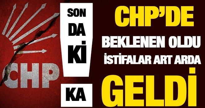 CHP'de beklenen artçılar geldi! 4 aday istifa etti...