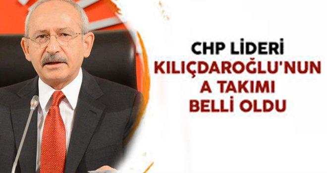 CHP'nin A takımı belli oldu! İşte yeni MYK üyeleri