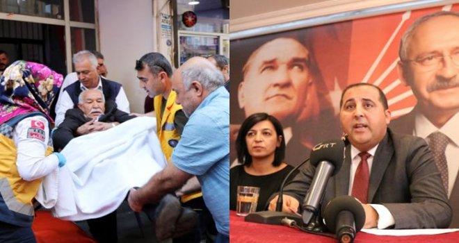 CHP'nin toplantısında bir partili, kalp krizi geçirdi