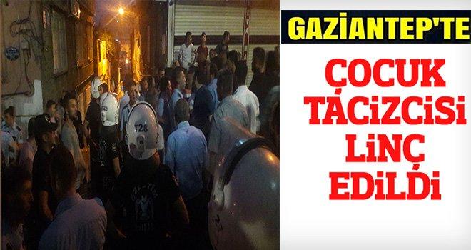 Gaziantep'te cinsel istismar iddiası mahalleyi ayağa kaldırdı