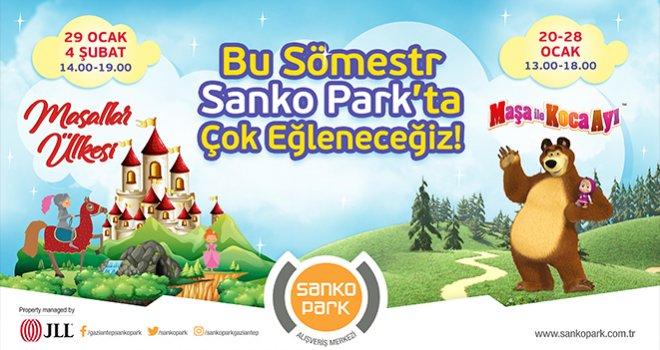 Çocuklara tatil armağanı Sanko Park'tan