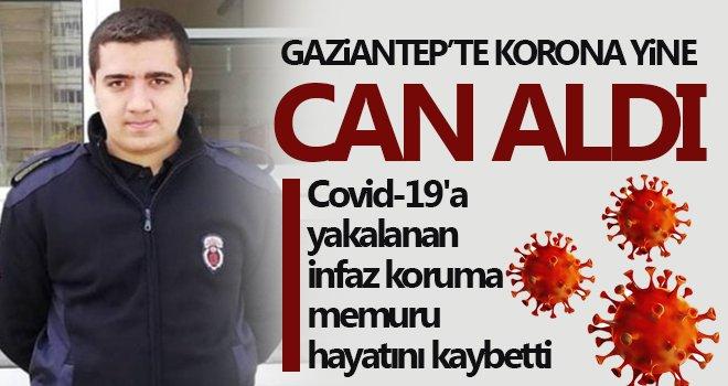 Covid-19'a yakalanan infaz koruma memuru hayatını kaybetti