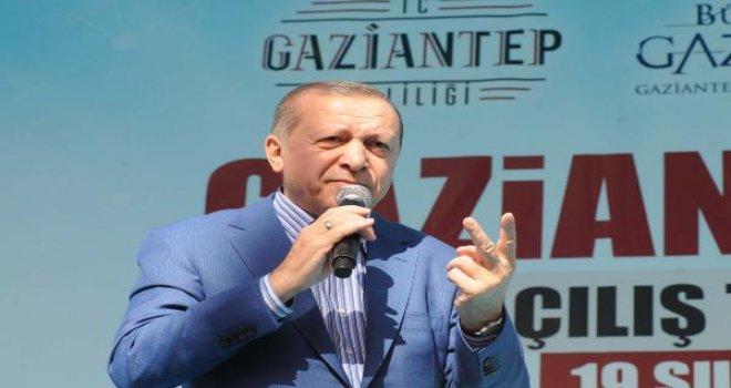 Cumhurbaşkanı Erdoğan, Gaziantep'te hangi sırrını açıkladı?