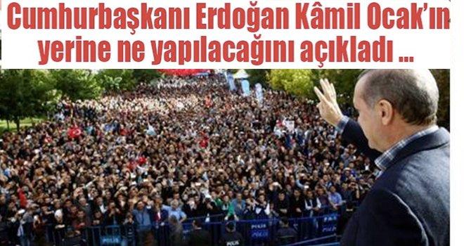 Cumhurbaşkanı Erdoğan'dan Gaziantep'e Cuma cami müjdesi