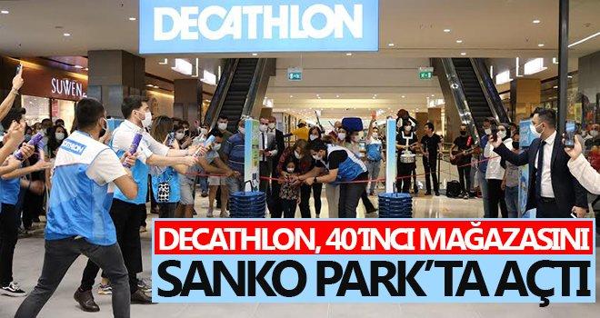 Decathlon 40'ıncı mağazasını Sanko Park'ta açtı