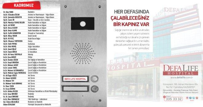 Defa Life Hospital Kurban Bayramı Reklamı