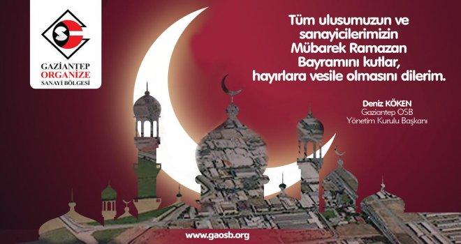 Deniz Köken Ramazan Bayramı