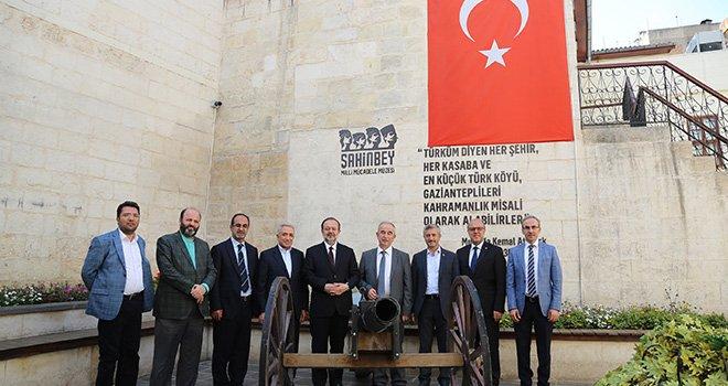 Diyanet işleri başkanı Bardakoğlu'ndan Milli mücadele müzesine ziyaret