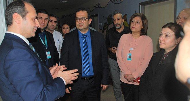 Doç. Dr. Turgut'tan İldeki kamu hastanelerine ziyaret