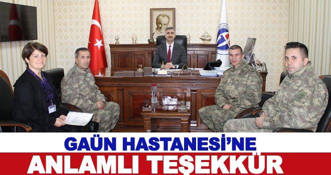 Doç. Dr. Zengin: Kapımız milletimize ve ordumuza her zaman açıktır