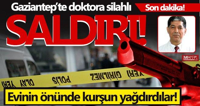 Doktor Korkmaz, evinin önünde vuruldu...