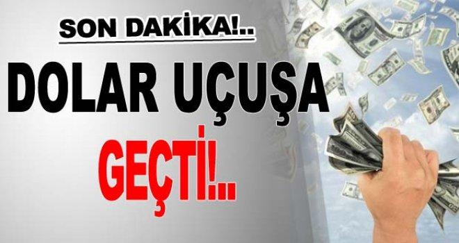 Dolar'dan tüm zamanların rekoru: 3.73 lira
