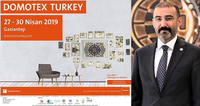 DOMOTEX Turkey 12. kez ziyaretçilerini ağırlayacak