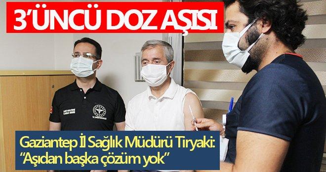 Dr. Tiryaki: Gaziantep'te Delta varyantı görülmedi