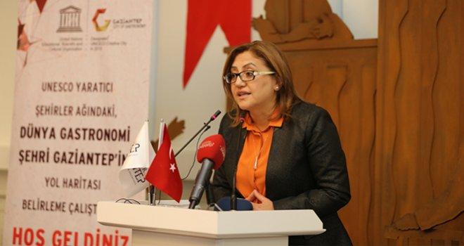 Dünya Gastronomi Şehri Gaziantep Çalıştayı Yapıldı