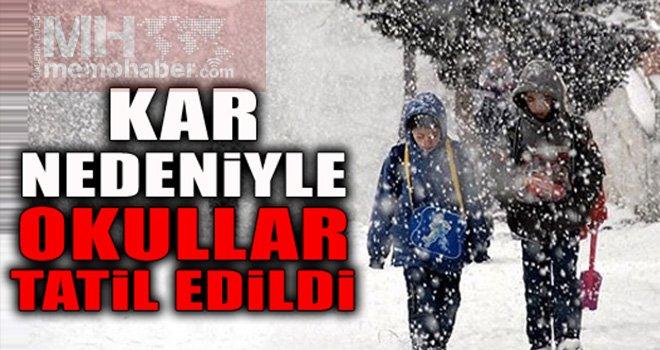 Eğitime kar engeli: Gözler Gaziantep valiliğinde