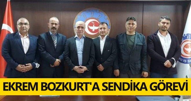 Ekrem Bozkurt'a sendika görevi
