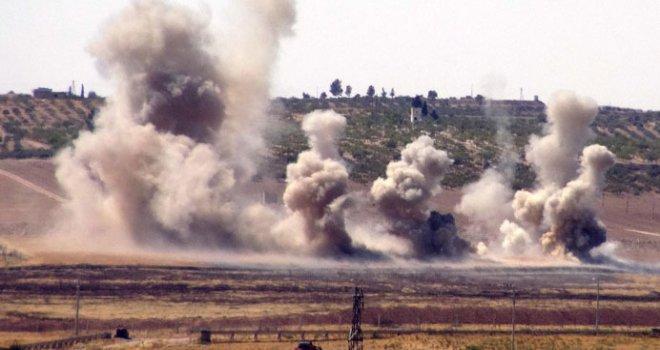 El Bab'tan kaçmaya çalışan DEAŞ'ın 114 hedefi imha edildi