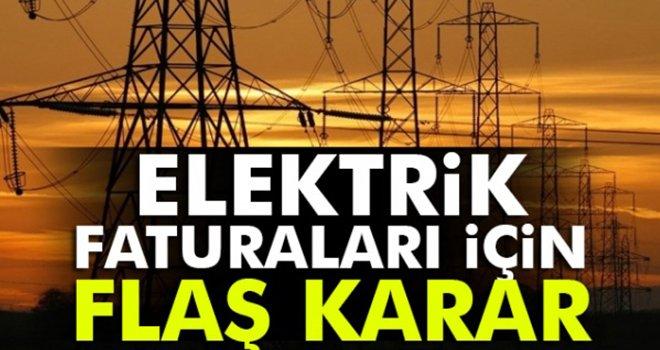 Elektrik faturası 67 liranın üstünde olan...