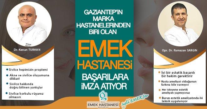 Emek Hastanesi Gaziantep'in en çok tercih edilen hastanelerinden biri!