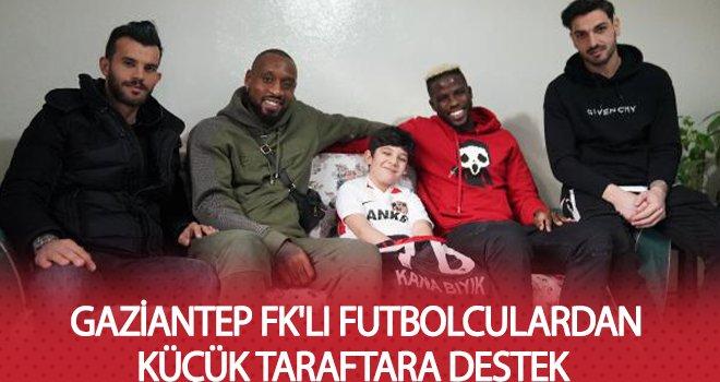 Enes'in dileği, yıldız futbolcular tarafından gerçekleştirildi