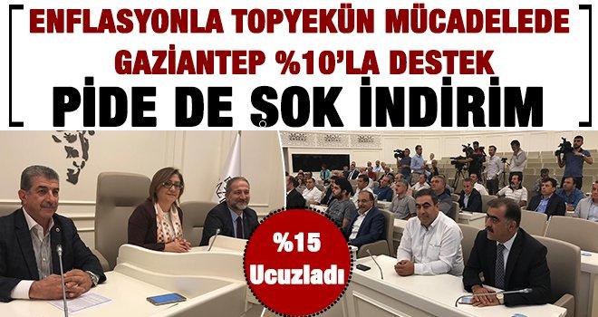 Enflasyonla mücadelede Gaziantep'te varız dedi: Yüzde 10-25 indirim