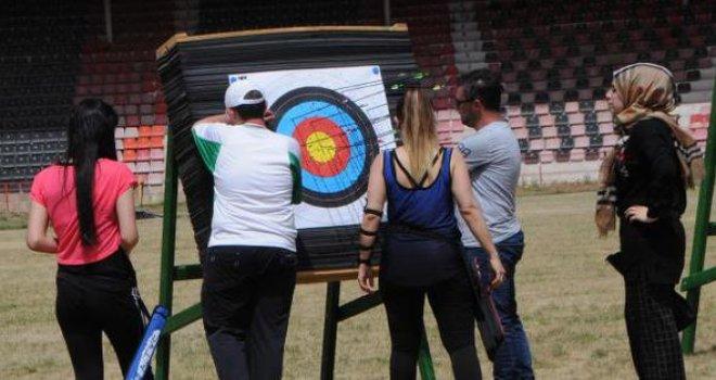 Engelli okçular, Gaziantep'i temsil etmek için yarıştı