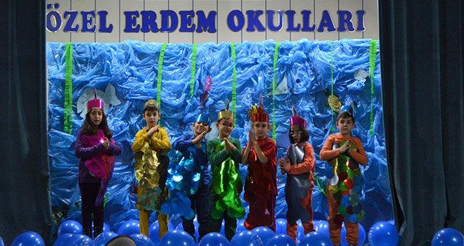 Erdem Koleji 'Eko Okul Projesi' Çalışmalarını Sürdürüyor
